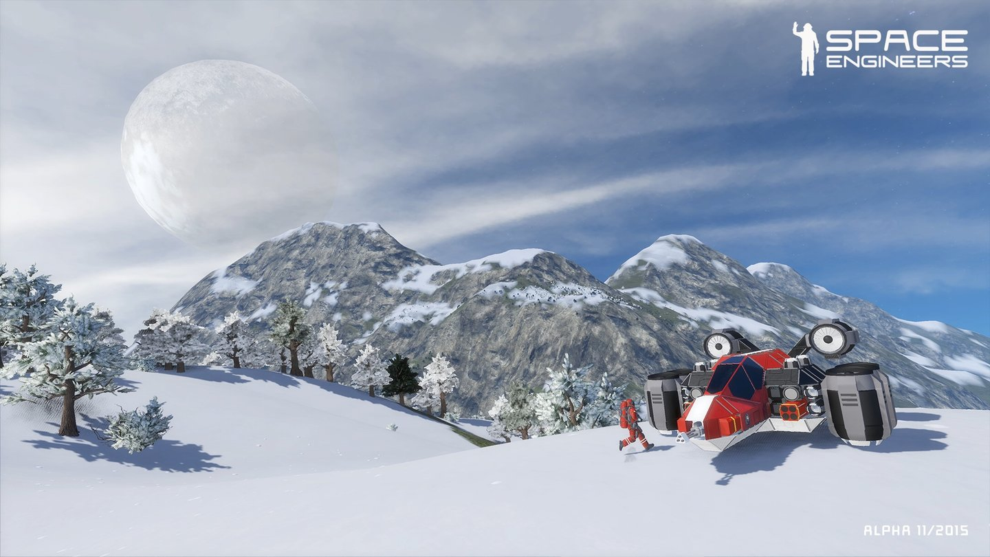 Space Engineers - Screenshots zum Planeten-Update