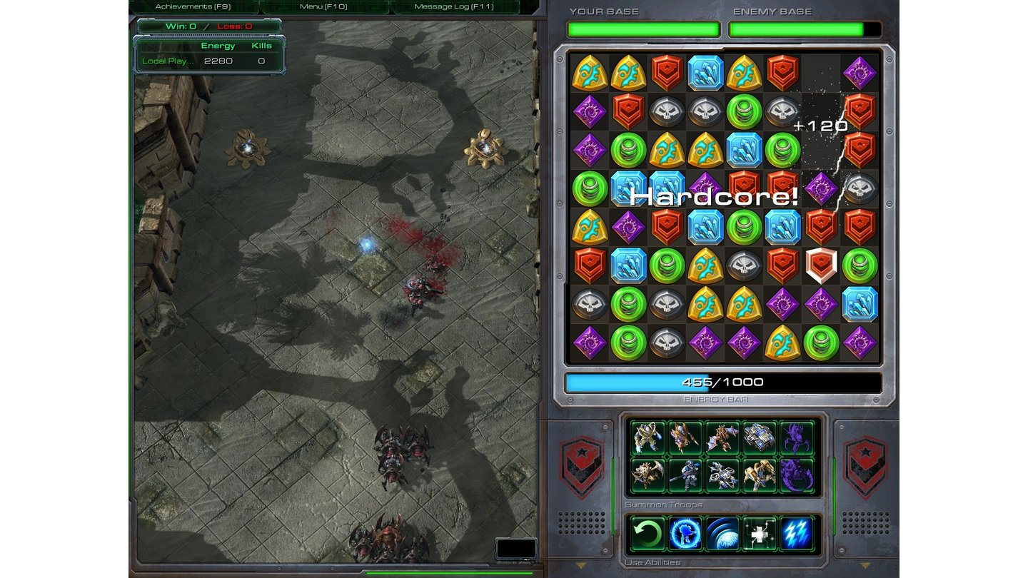 StarCraft 2 - Bilder zur Custom Map »Starjeweled«