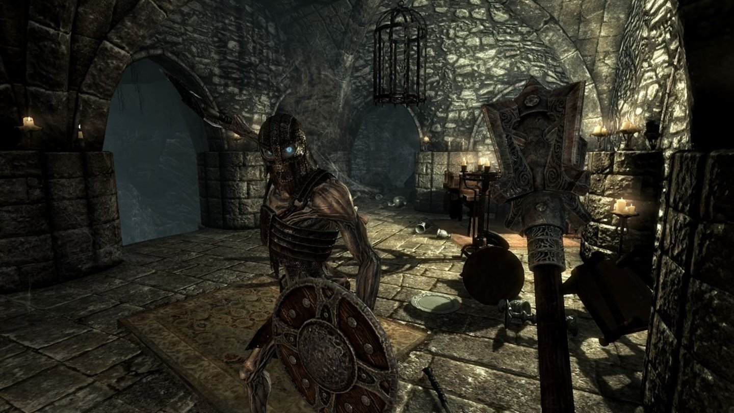 The Elder Scrolls 5: Skyrim - E3-Screenshots: Draugr Crypt
