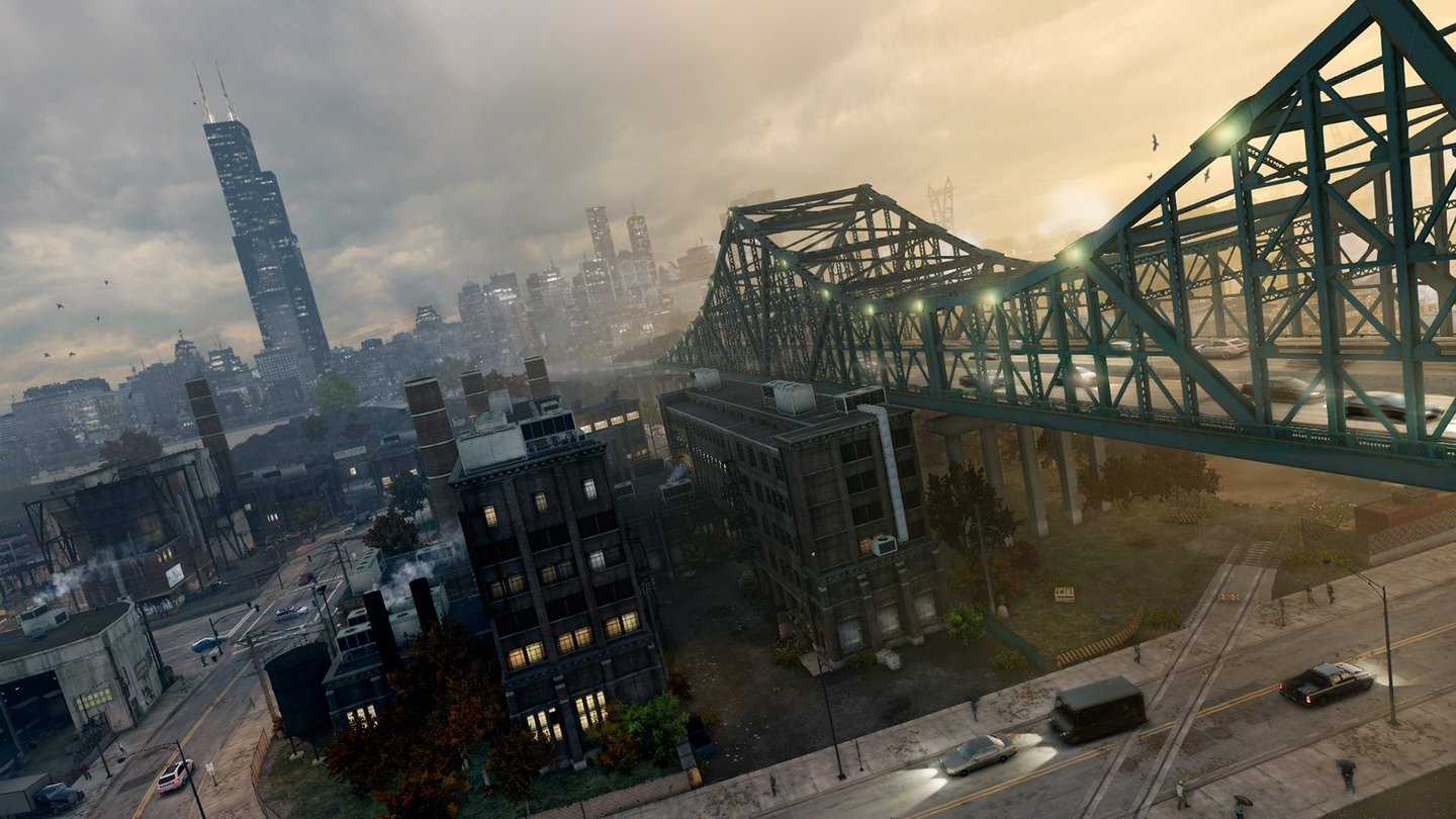 Watch Dogs - Bilder aus der GeForce Enhanced HQ Version