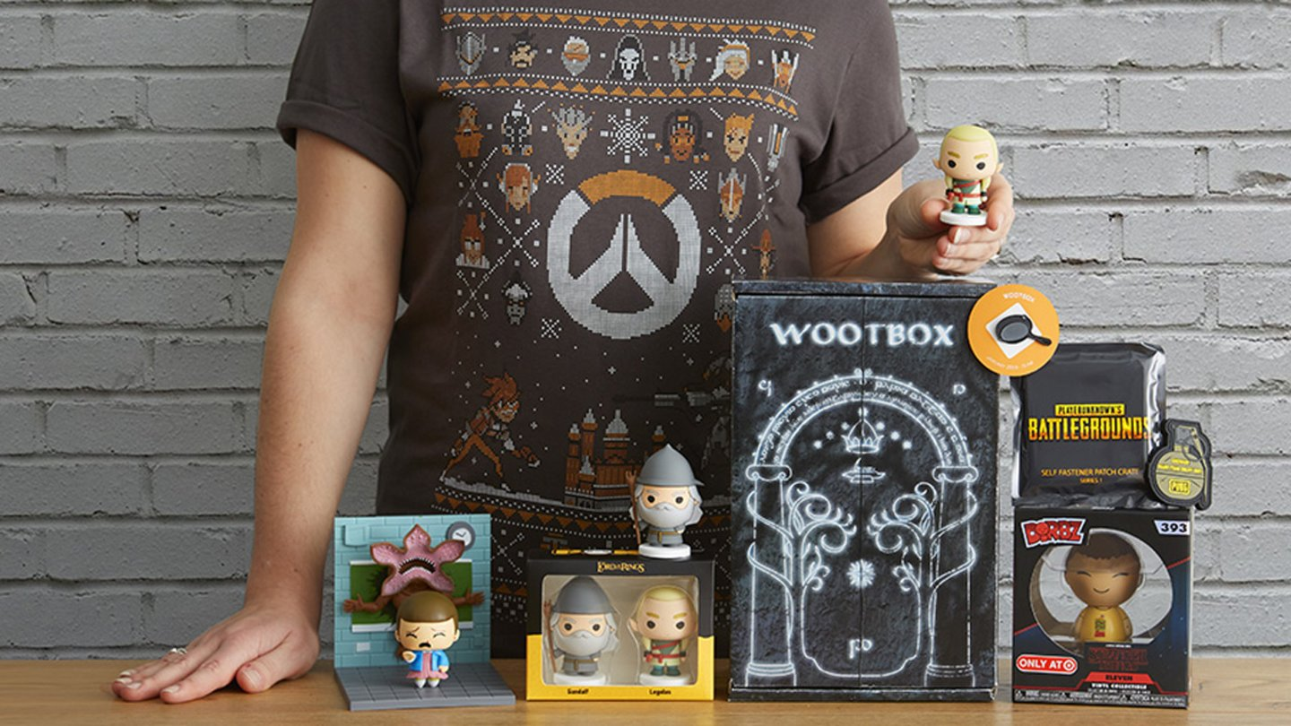 Wootbox Team im Januar - Overwatch, PUBG, Stranger Things & Lord of the Rings