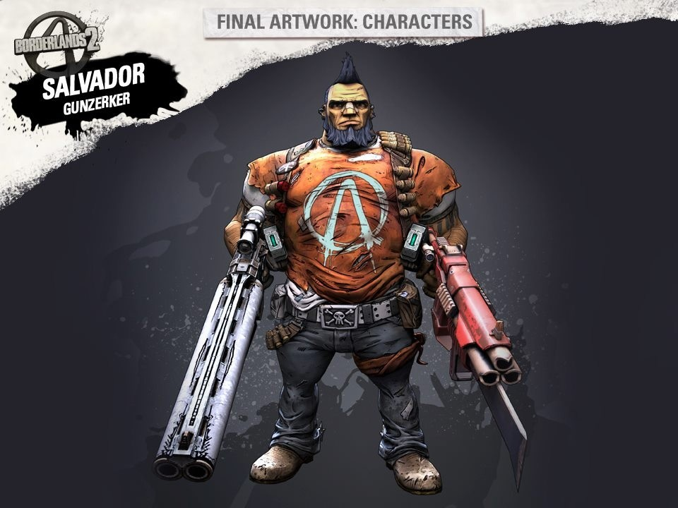 Gunzerker Salvador - Artwork