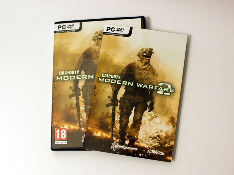 Die PC-Version von Modern Warfare 2.