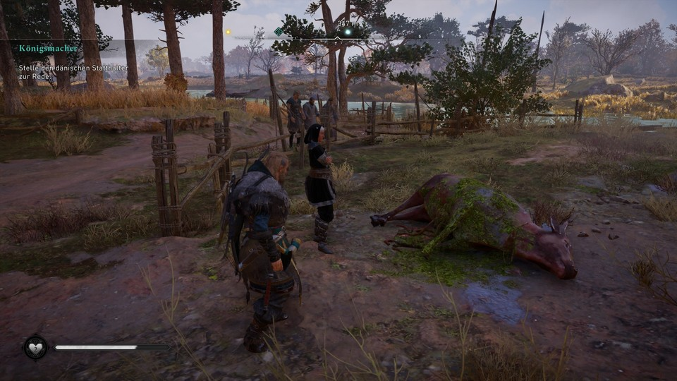 Some quests have not yet been completed for some players.  Others, like the Beowulf mission here, displayed incorrect markers.