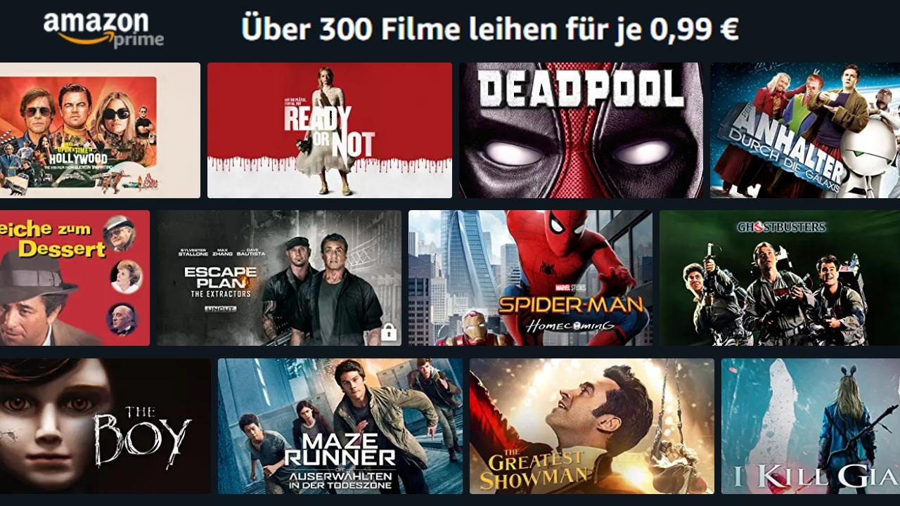 Amazon Filme Ausleihen