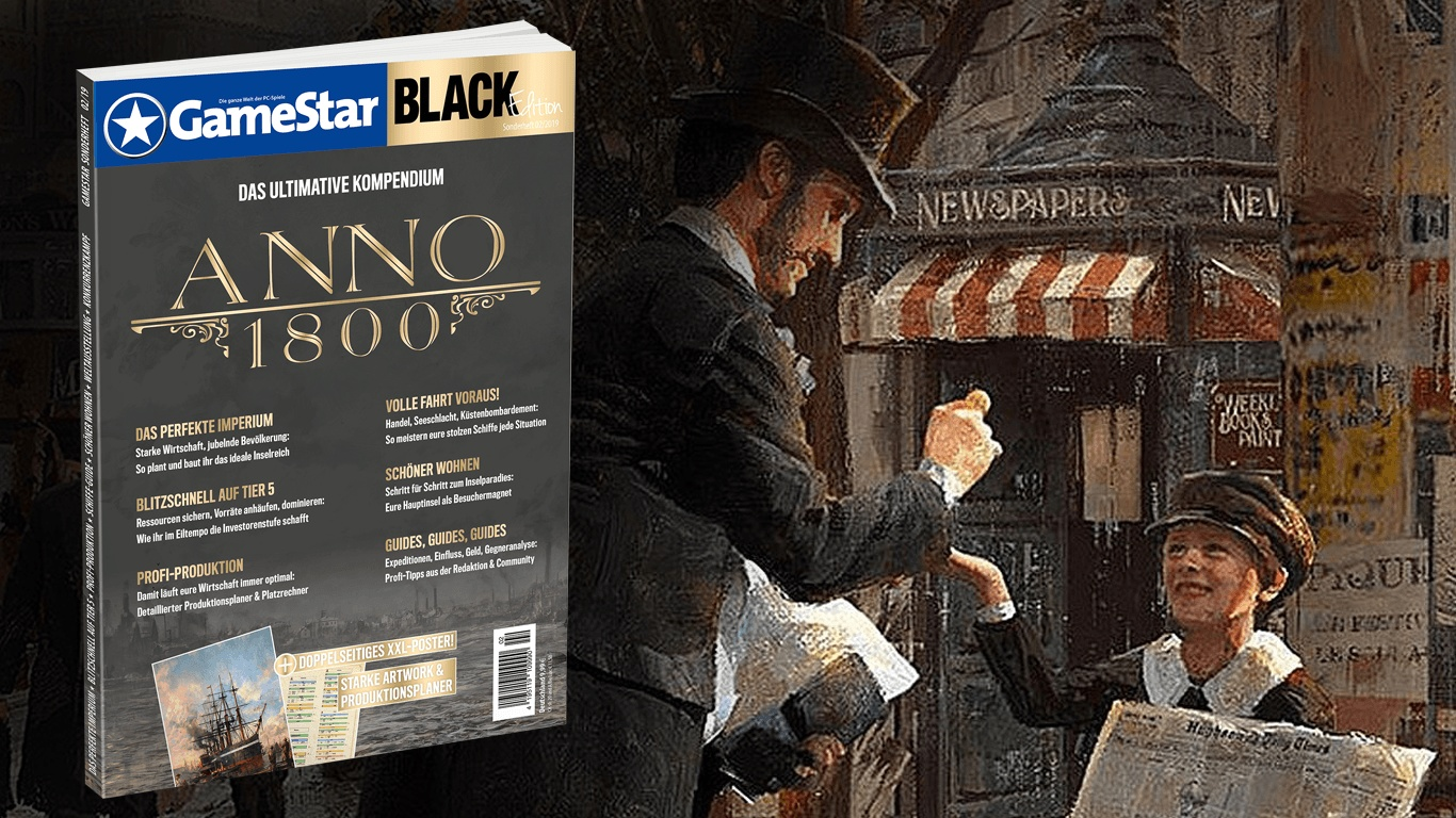 GameStar Black Edition Anno 1800