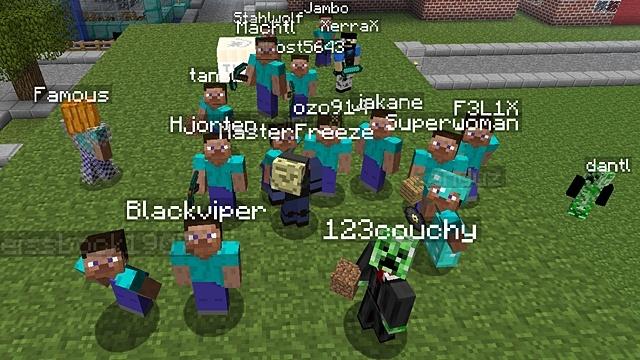 Minecraft Multiplayer So Gelingt Der Onlinestart GameStar - Minecraft online spielen mit freunden