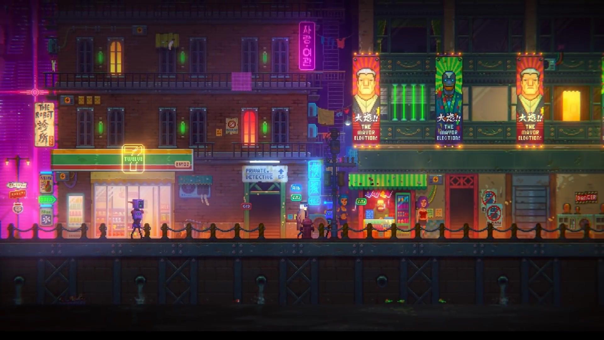 Tales of the Neon Sea - Trailer zum humorvollen Cyberpunk-Adventure