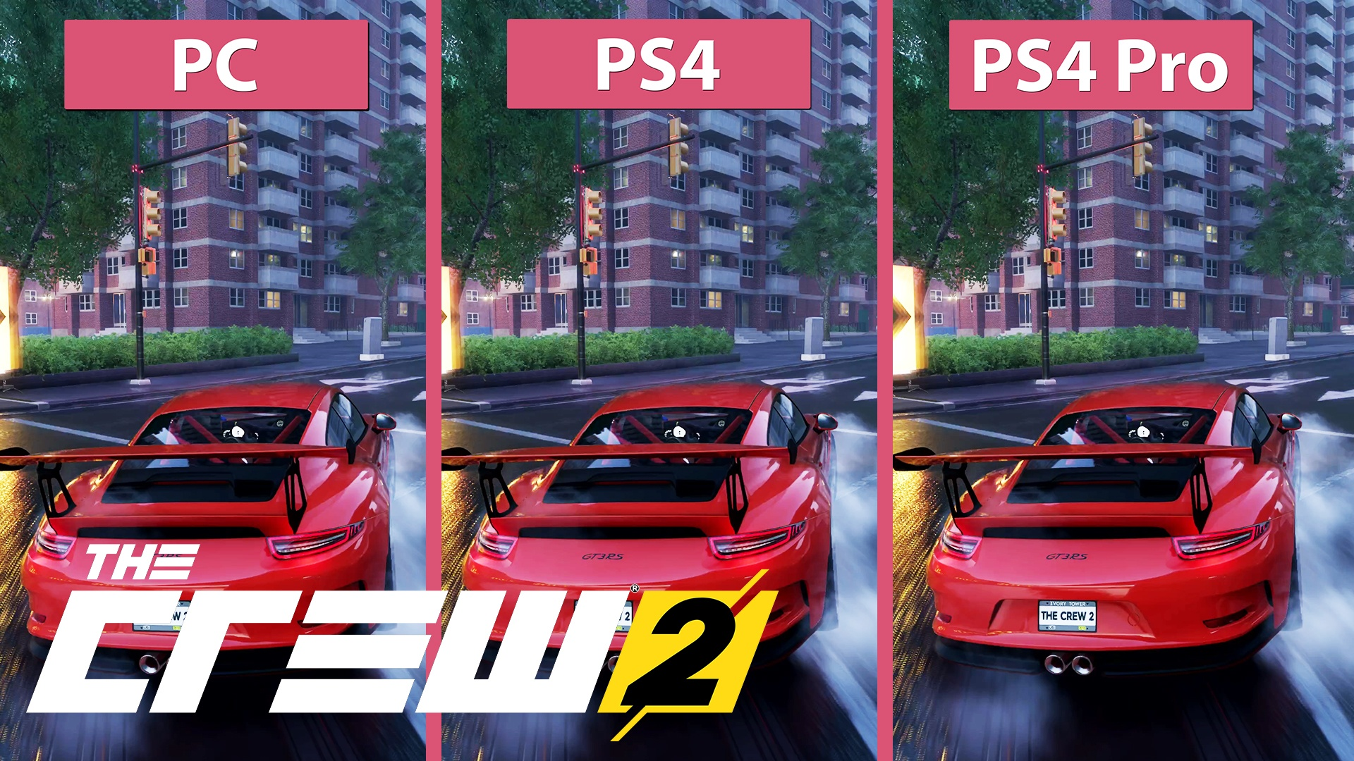 the crew 2 pc gegen ps4 und ps4 pro im grafikvergleich gamestar. Black Bedroom Furniture Sets. Home Design Ideas