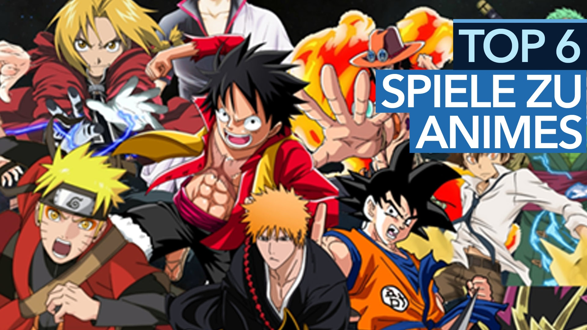 Von dragon ball bis one piece video die sechs besten - Dragon ball one piece ...