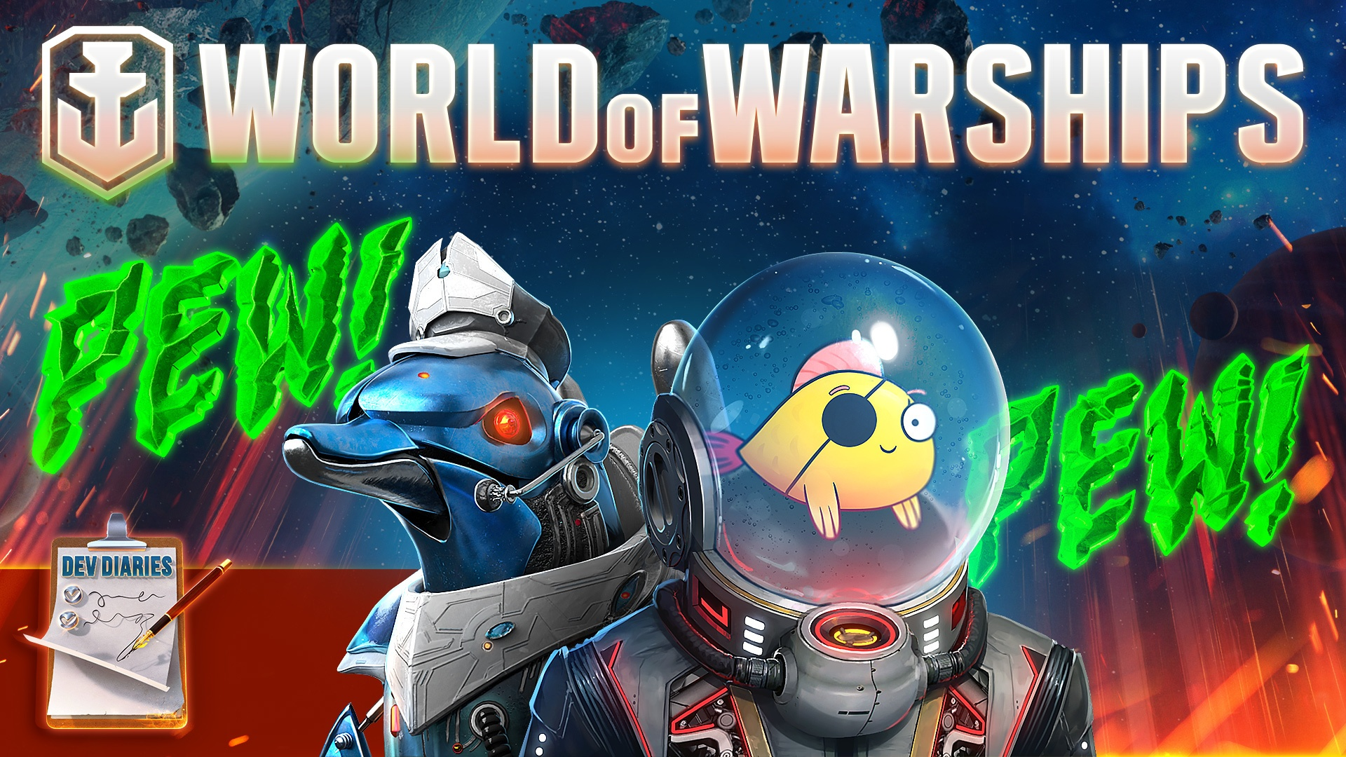 World Of Warships Weltraum