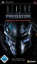 Cover zu Aliens vs Predator: Survival of the Fittest - PSP
