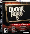 Cover zu Guitar Hero 5 - PlayStation 3