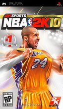 Cover zu NBA 2K10 - PSP