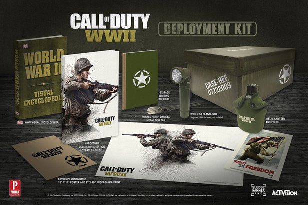 Call of Duty: WW2 - Strategy Guide von Prima Games: Deployment Kit Edition