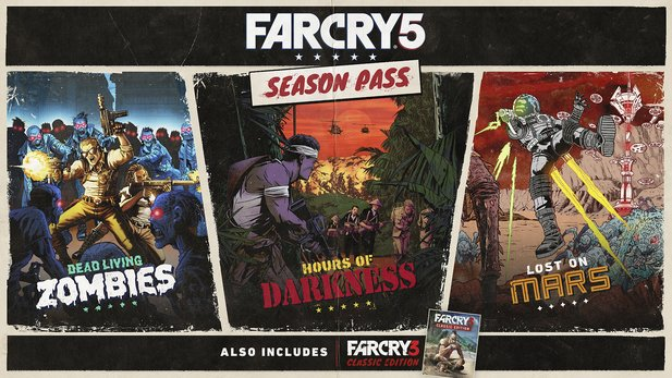 Far Cry 5 - Gameplay-Trailer zeigt kommende DLCs & Far Cry 3 Classic