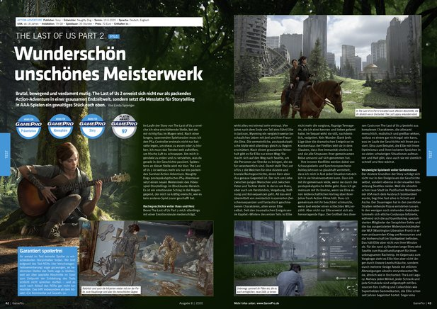 The Last of Us Part 2 im Riesentest!