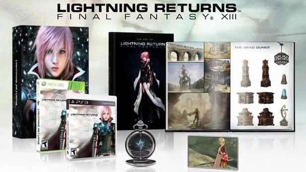 Lightning Returns: Final Fantasy 13 - Offizielles Unboxing der Collector's Edition