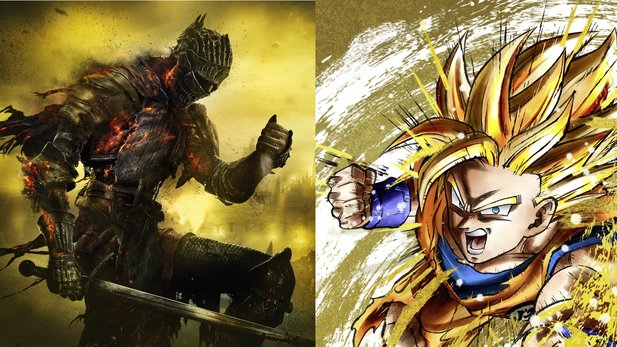 Dark Souls und Dragon Ball