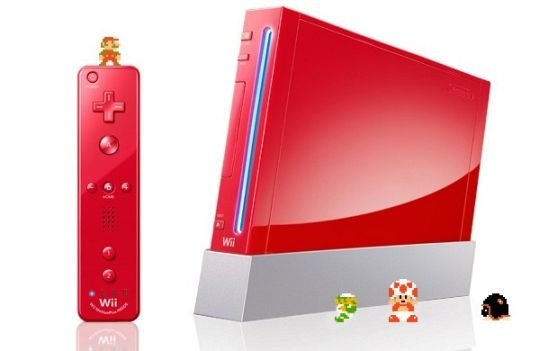 Nintendo Wii: Rote Edition
