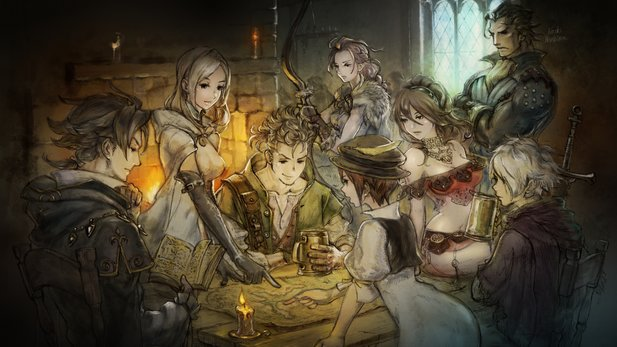 Octopath Traveler erschien exklusiv für die Nintendo Switch.
