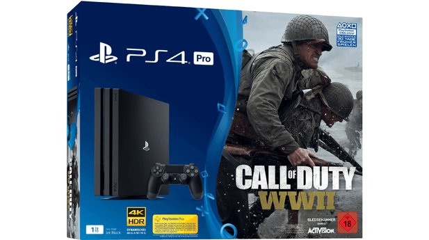 PS4 Pro Bundle mit Call of Duty für 377 Euro.