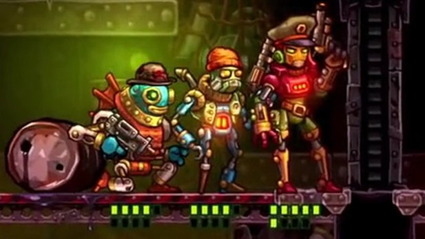 SteamWorld Heist - Gameplay-Trailer zur Robo-Rundentaktik