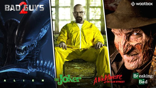 Wootbox »Bad Guys 2« bringt das beste Merchandise von Beraking Bad, The Joker, Alien & A Nightmare on Elmstreet zu dir nach Hause.