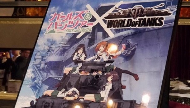 World of Tanks kommt in Japan als Crossover mit dem Anime Girls und Panzer (Foto: PCGamer.com).