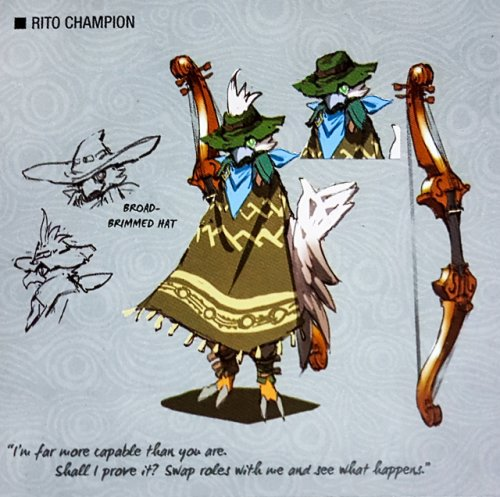 Zelda: Breath of the Wild - Champion Revali