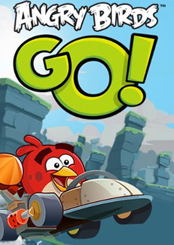Cover zu Angry Birds Go!
