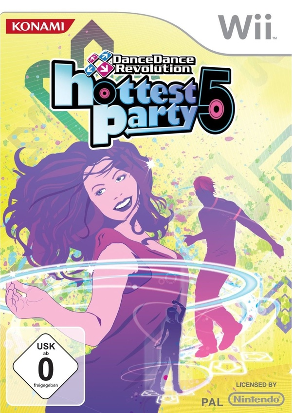 Cover zu Dance Dance Revolution Hottest Party 5