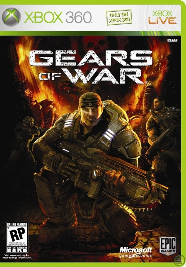 Cover zu Gears of War