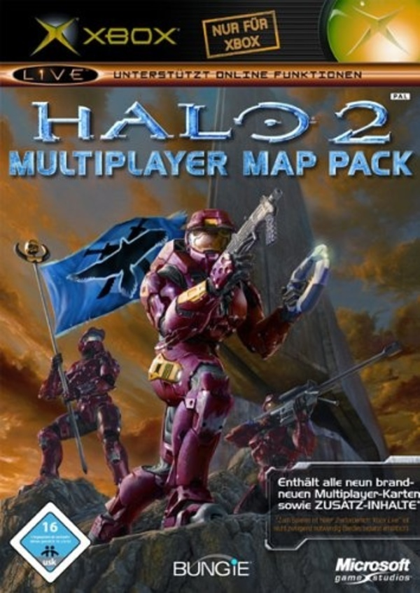 Cover zu Halo 2: Multiplayer Map Pack