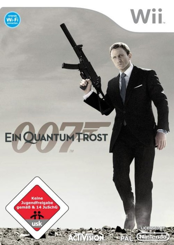 Cover zu James Bond 007: Ein Quantum Trost