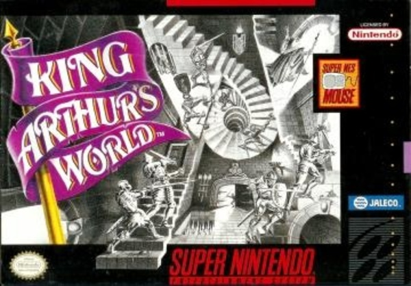Cover zu King Arthur's World