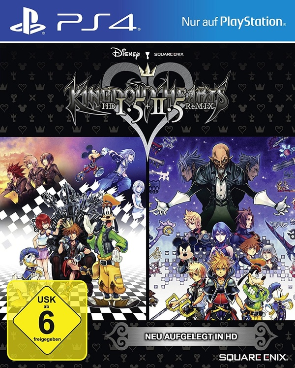 Cover zu Kingdom Hearts HD 1.5 + 2.5 ReMIX