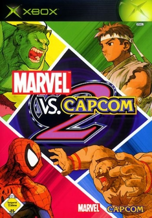 Cover zu Marvel vs. Capcom 2