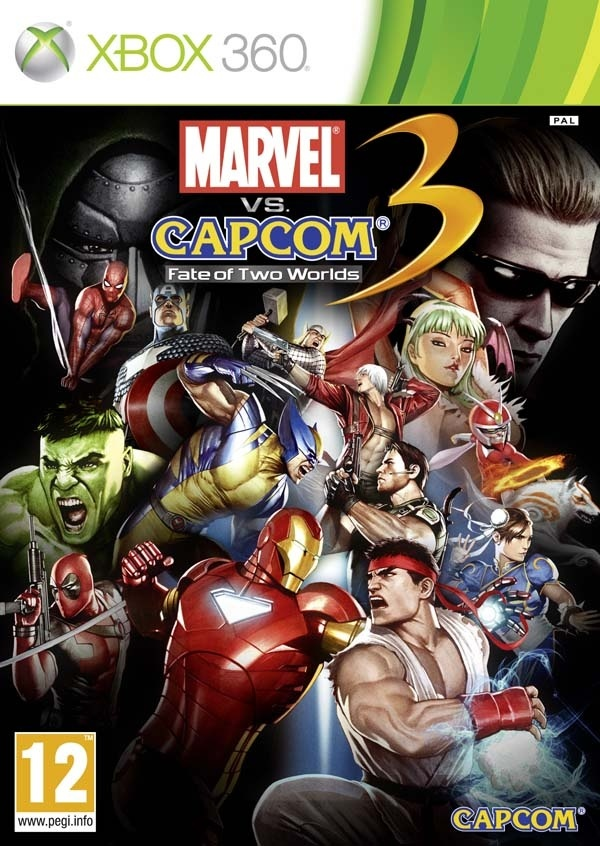 Cover zu Marvel vs. Capcom 3: Fate of Two World