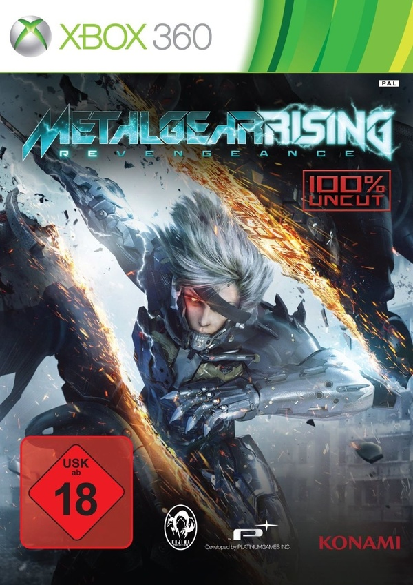 Cover zu Metal Gear Rising: Revengeance