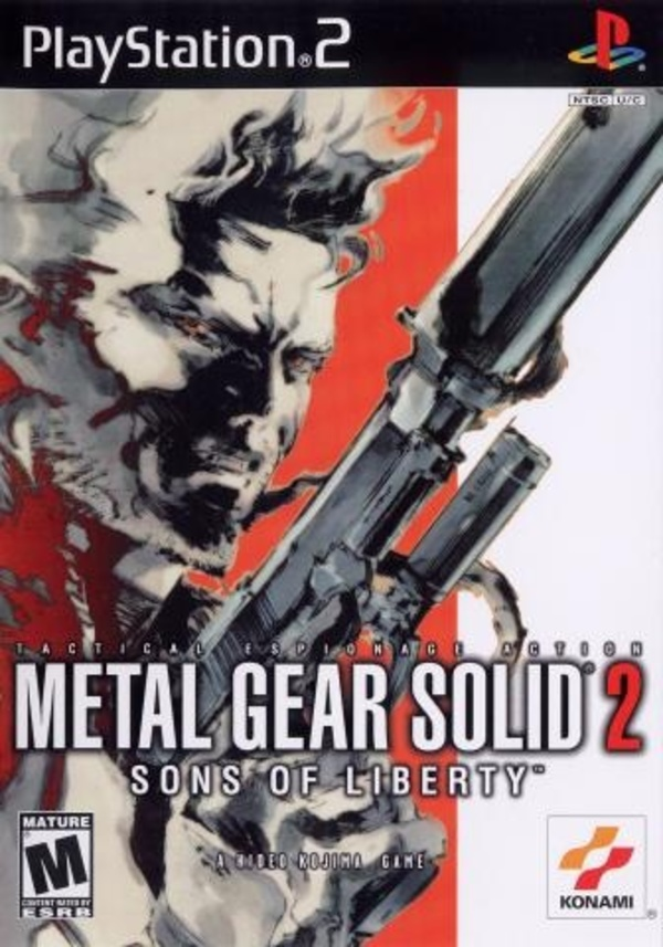 Cover zu Metal Gear Solid 2: Sons of Liberty