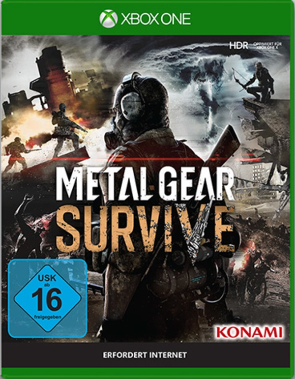 Cover zu Metal Gear Survive