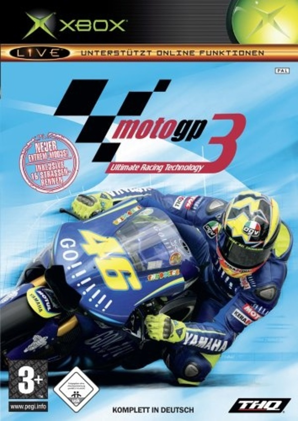 Cover zu MotoGP: Ultimate Racing Technology 3