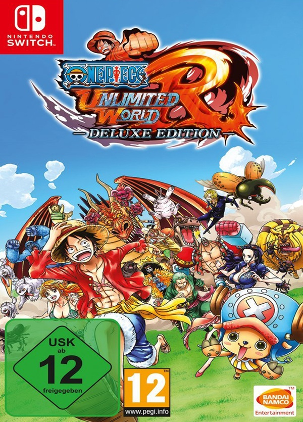Cover zu One Piece: Unlimited World Red - Deluxe Edition