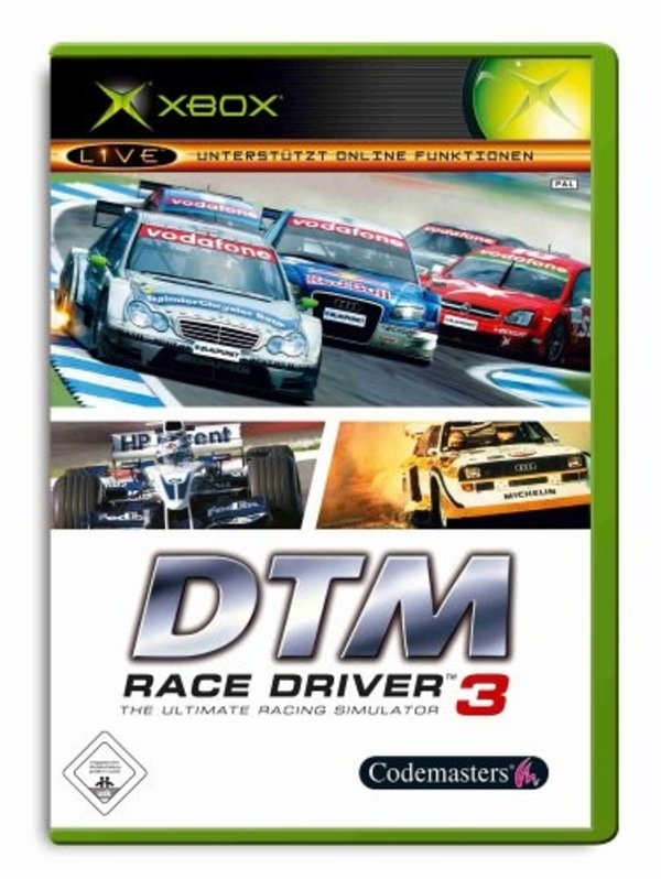 Cover zu DTM Race Driver 3