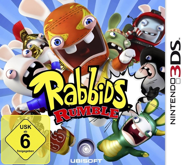 Cover zu Rabbids Rumble