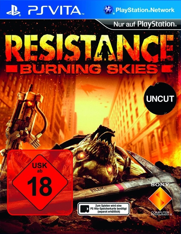 Cover zu Resistance: Burning Skies