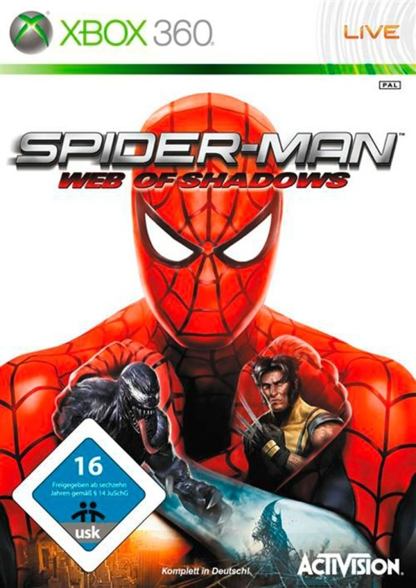 Cover zu Spider-Man: Web of Shadows