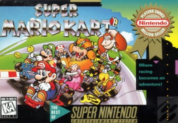 Cover zu Super Mario Kart
