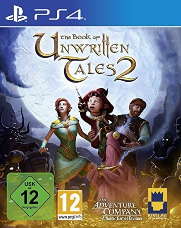 Cover zu The Book of Unwritten Tales 2